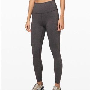 Gray lulu leggings 28'
